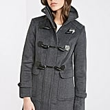 Forever 21 Funnel Neck Toggle Coat ($73)