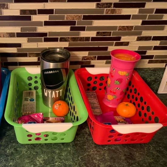 Food-Bin Hack to Keep Kids From Constantly Asking For Snacks