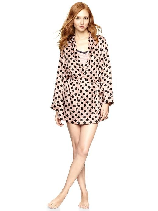 A silky robe feels indulgent, even if it's budget-friendly. Snag some of these fun polka-dot finds from Gap ($36, originally $45) and gift them to your girls early, so you can all wear them while prepping for the ceremony together.