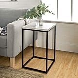 WE Furniture Modern Square End Accent Table