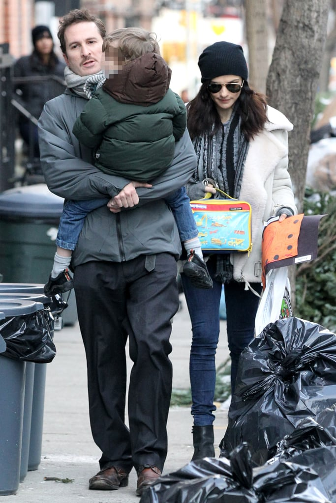 Rachel Weisz and Darren Aronofsky spent some time together yesterday in NYC with their son Henry. The couple split in the summer of last year, although their split was only announced in December. Rachel spent the festive season with her new man Daniel Craig — he's currently in LA filming The Girl With the Dragon Tattoo while Rachel stays on the east coast. Last night's People's Choice Awards marks the first big award show of award season, where Darren's movie Black Swan has been generating Oscar buzz.