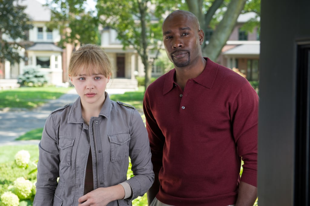 Chloë Moretz and Morris Chestnut in Kick-Ass 2.