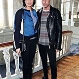 Leigh Lezark and Geordon Nicol