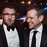 Pictured: Matt Damon and Joel Edgerton