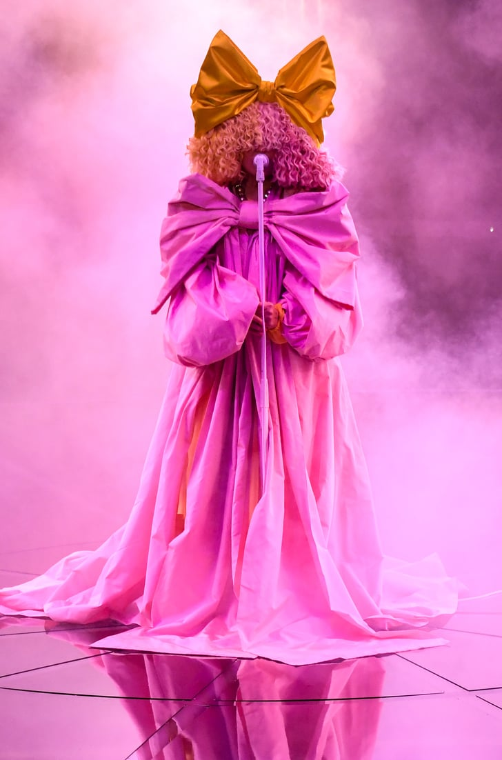 Sia's Pink Gown at the Billboard Music Awards 2020