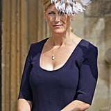 Sophie, Countess of Wessex, attended an Easter service in 2011 wearing a pale lilac fascinator that looked almost like a pinwheel.