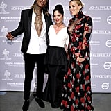 Pictured: Selma Blair, Busy Philipps, and Wiz Khalifa