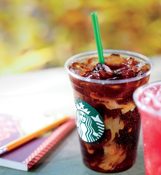Iced Coffee With Milk and Flavored Syrup