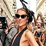 Celine Dion at Couture Fashion Week 2019