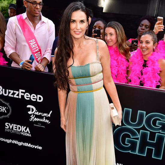 Demi Moore Rainbow Dior Dress
