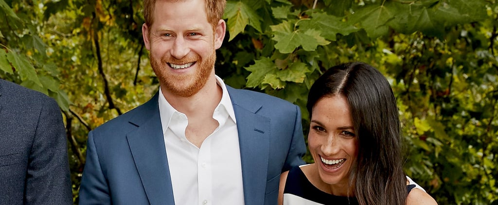 Meghan Markle's Dress in Royal Family Portrait 2018