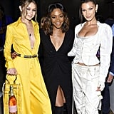 Pictured: Gigi Hadid, Tiffany Haddish, and Bella Hadid