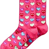 Hot Sox Women's Candy Hearts Socks ($6)