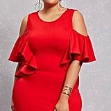 Forever 21 FOREVER 21+ Plus Size Open-Shoulder Dress