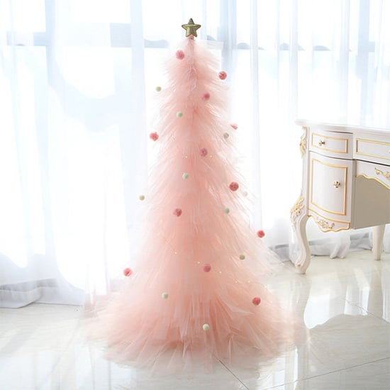 Where to Buy Pink Tulle Christmas Trees