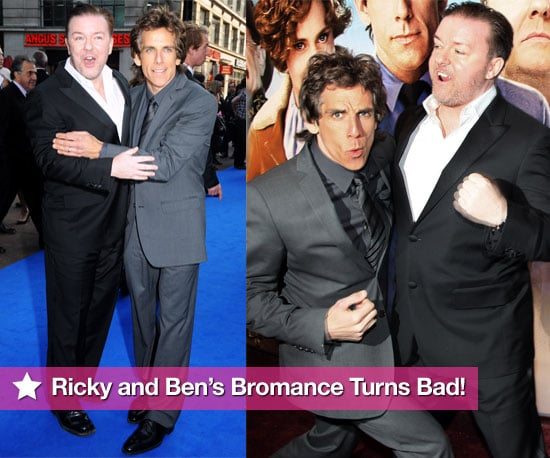 Ben and Ricky Brawl During Their Night At The UK Premiere