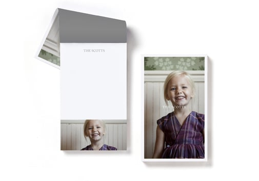Customized Portrait Notepad