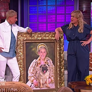 Ellen Crashed Kelly Clarkson's Talk Show, but at Least She Brought Gifts