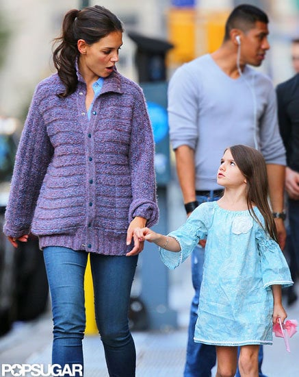 Katie Holmes and Suri Cruise spent an afternoon out together in NYC.