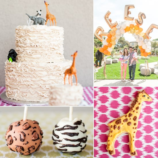 Party Animal 1st Birthday First Birthday Ideas: Safari Birthday Party For A Little Girl