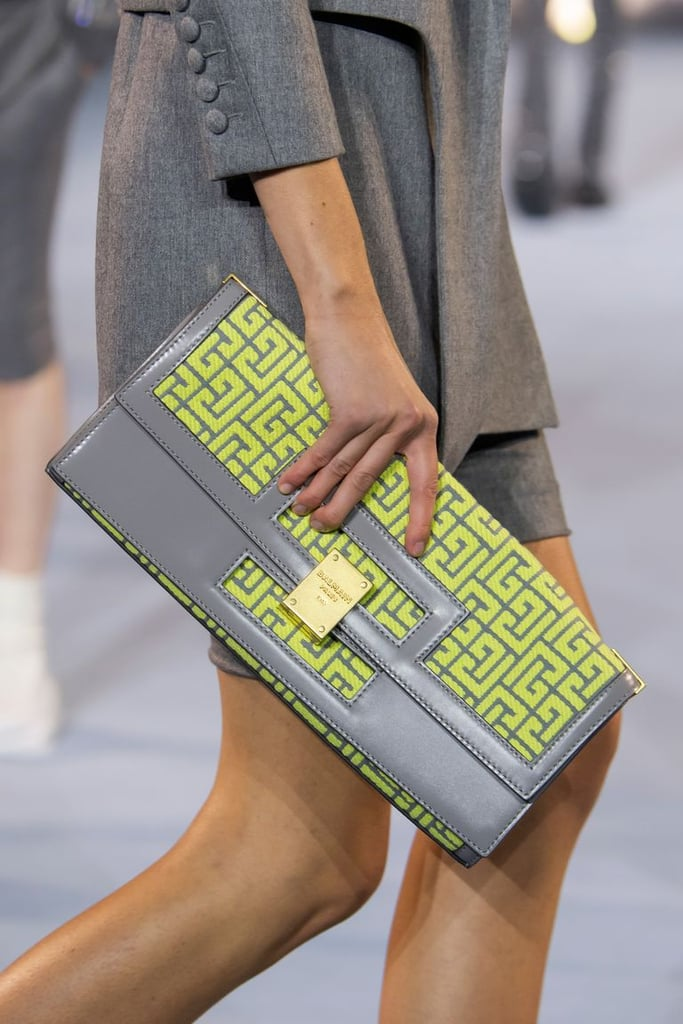 A bag from the Balmain spring/summer 2021 runway.