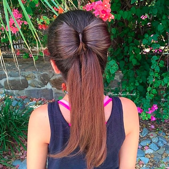 Bow Hairstyle Hair Hack