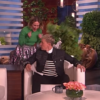 Sarah Paulson Getting Scared on The Ellen Show Jan. 2019