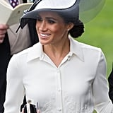 Meghan Markle Holding Her Clutch 2018