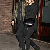 Jennifer and Justin Show PDA During NYC Reunion