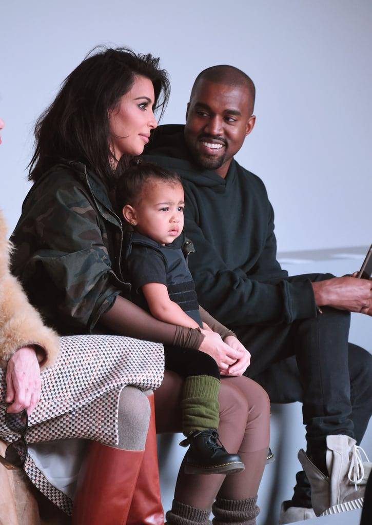 Kim Kardashian Kids >> Kim Kardashian And Kanye West S Cutest Family Pictures Popsugar