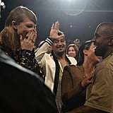 Taylor Swift and Kim Kardashian React to Kanye at VMAs 2015