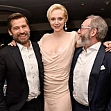 Pictured: Nikolaj Coster-Waldau, Gwendoline Christie, and Liam Cunningham
