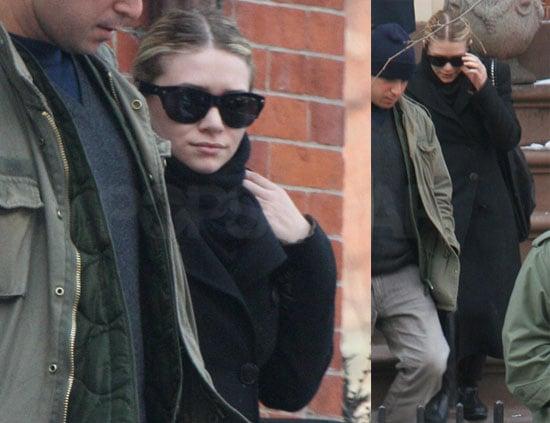 Photos of Ashley Olsen in NYC