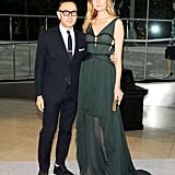 Gilles Mendel with Constance Jablonski. Source: Billy Farrell/BFAnyc.com