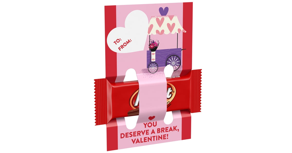 Reese S Kit Kat Valentine S Exchange With Cards 6 New