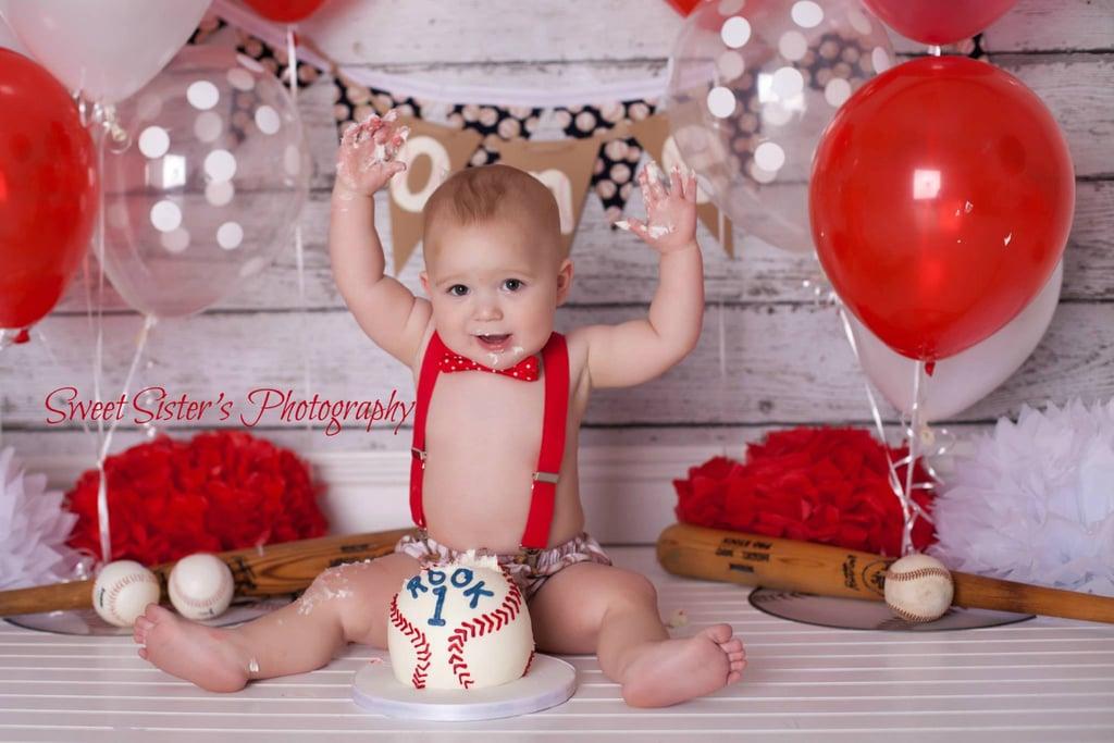 Baby CakeSmash Photo Ideas POPSUGAR Moms