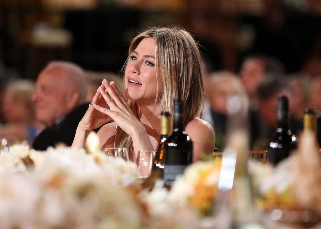 Jennifer Aniston Looks Hot in White to Honour Shirley MacLaine