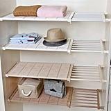 Apsoonsell Adjustable Shelf Closet Storage Rack Organiser