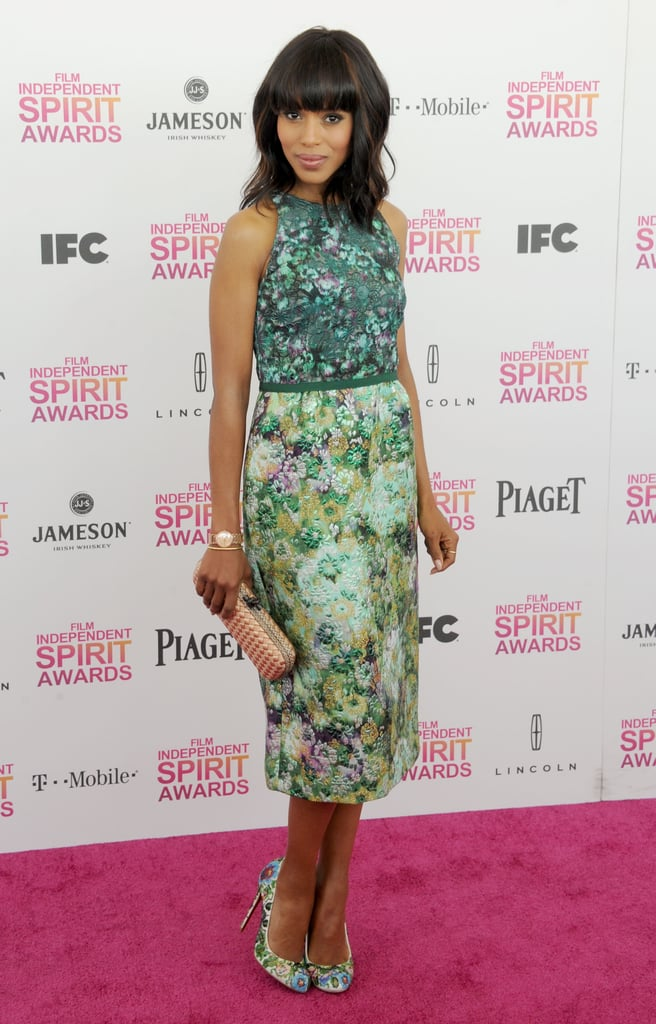 Kerry was named People's best dressed woman of 2013 in September and also landed the No. 2 spot on its Most Beautiful People list in April, just behind Gwyneth Paltrow.
