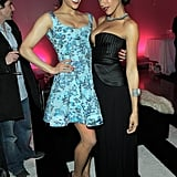 Paula Patton and Dania Ramirez chatted in LA.