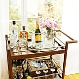 Clean up your bar cart.