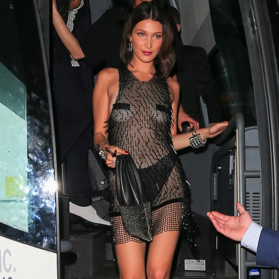 Bella Hadid Met Gala Afterparty Dress 2017