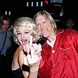 Drew Barrymore and Eric Erlandson, 1995
