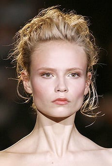 Catwalk Runway Beauty trend Super Skin Supernatural Beauty. Photo and How To Get The Models' Look.