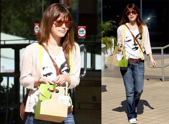 Sunny Days For Rachel Bilson
