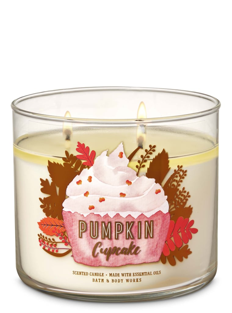 Bath and Body Works Pumpkin Cupcake 3-Wick Candle