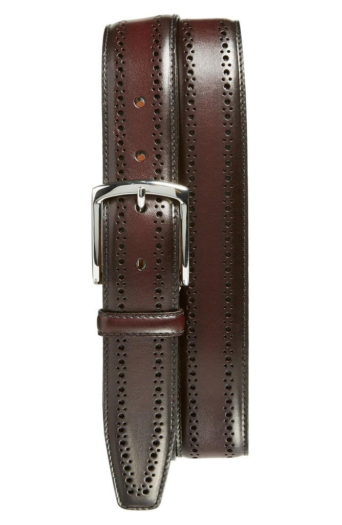 A Dark-Colored Belt