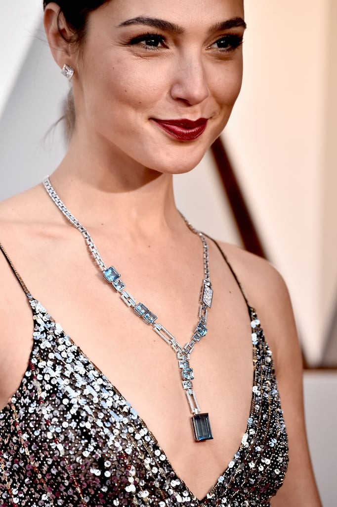 Gal Gadot | Oscars Jewelry and Accessories 2018