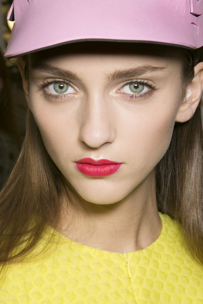 John Galliano Spring 2014 Hair and Makeup