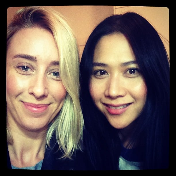 Alison's beautiful brow guru, Lien Davies (find her at Brows & Makeup), is the best in the biz!